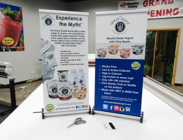 Mini Retractable Banners