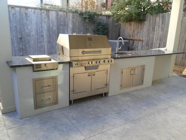 A Recent Outdoor Kitchens Job In The Area