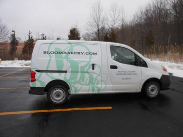 Bloom Bakery Vehicle Graphics