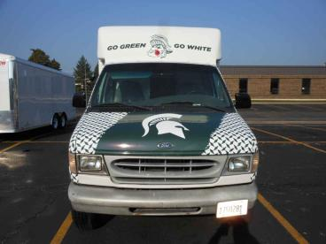 Spartan Truck Wrap - Michigan State Fan