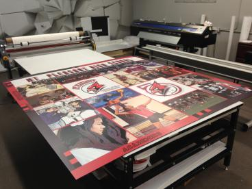 Wall Graphics in Production