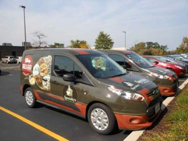 Van Wraps - Specialty's Bakery - Wheaton and Oakbrook Terrace
