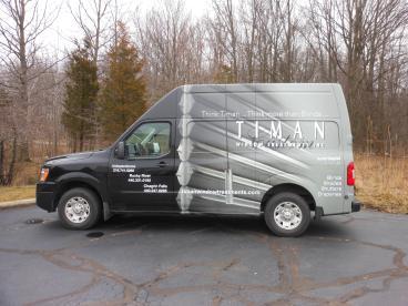 Vehicle Wrap - Timan Custom Window Treatments