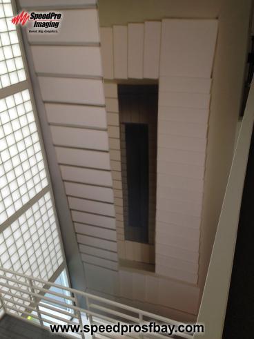 YBCA Wall Stairs