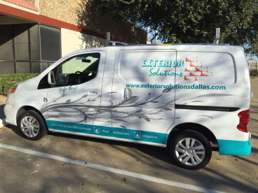 Partial Van Wrap