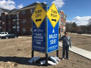 Construction Site Signs - Bloomington, Eden Prairie, Minneapolis