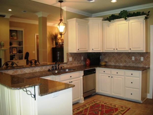 A Recent Kitchen Cabinet Company Job In The Area