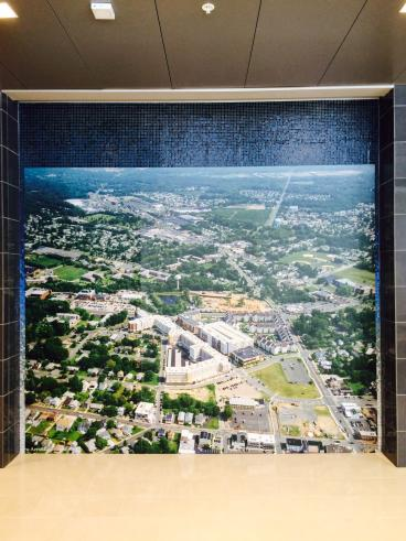 Rowan University Glassboro NJ Arial View