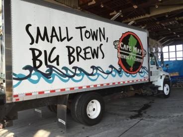 Cape May Brewing Company Reefer Truck