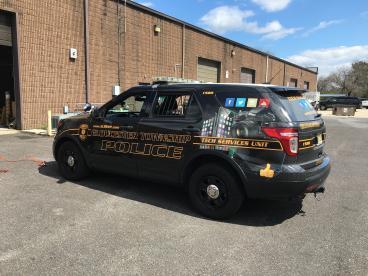 Gloucester Township Tech Service Unit Vehicle Wrap