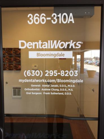 Door Sign - Dental Office - Bloomingdale