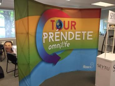 Another Great Trade Show Display for Omnilife!!