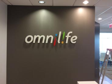 Corporate Logo done in dimensional letters in Plano, Texas!
