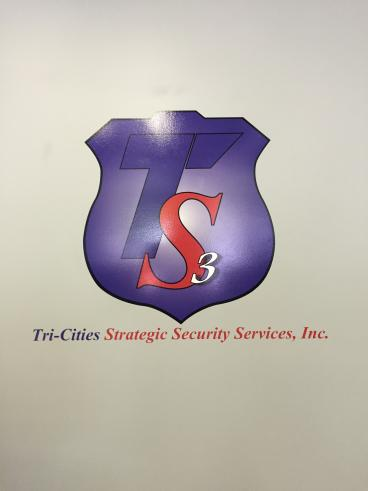 Wall Graphic for Tri-Cities Strategic Security in Kingsport