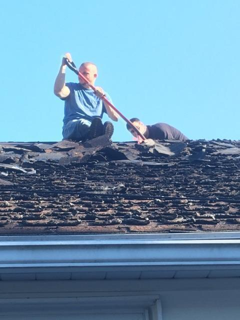 ... An Employee At TNT Roofing And More ...