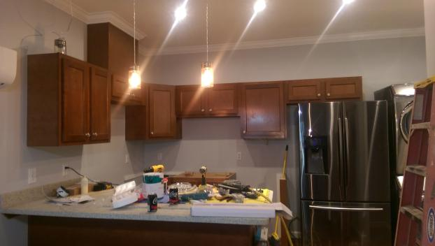 kitchen countertops light