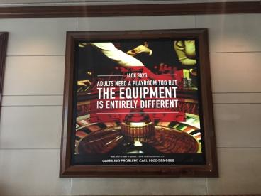 JACK Cleveland Casino- Backlit Signage