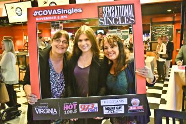Photo frame for COVA Singles Event