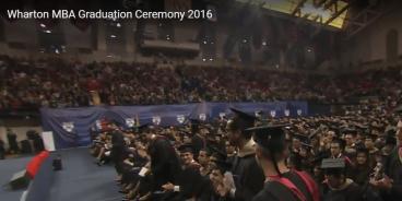 Wharton Graduation Banners - 94'w x 12'h