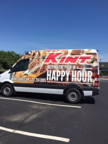 Full Truck Wrap we did for Kent.