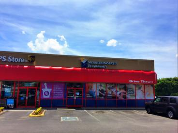 Eye Catching Window Graphics for Mountain States Kingsport Pharmacy