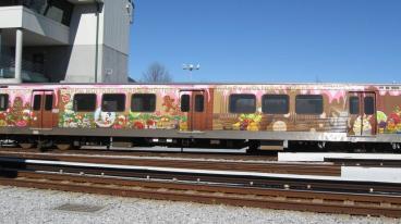 MARTA Train Wrap