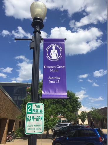 Pole Banner - Downers Grove