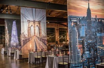 New York Themed Event Graphics - 8'x14'