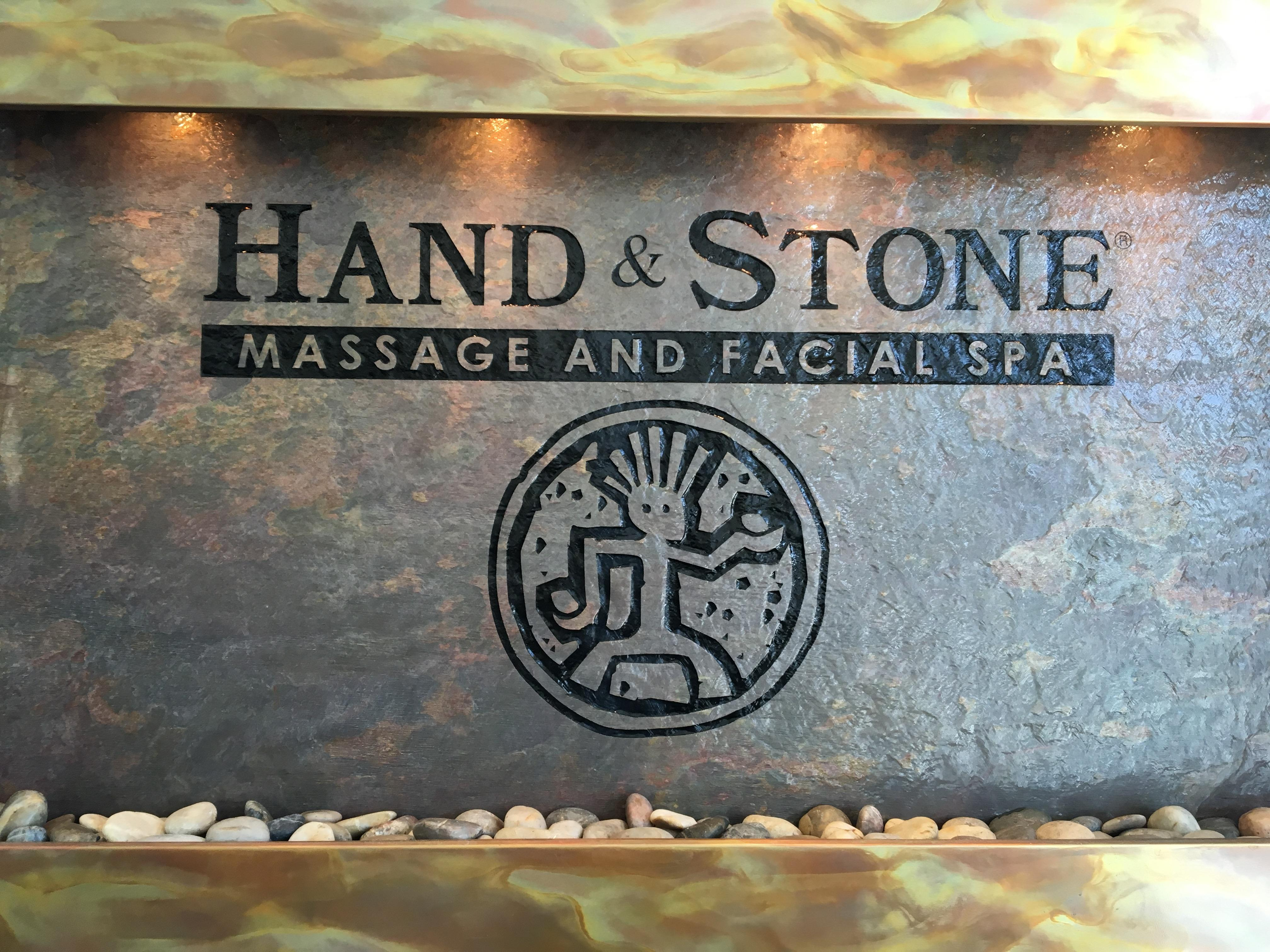 Hand & Stone Alamo Ranch Water Wall
