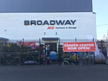 Broadway Ace Hardware - Scrim Fence Banners