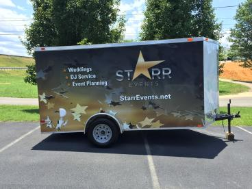 Star Events Trailer Wrap
