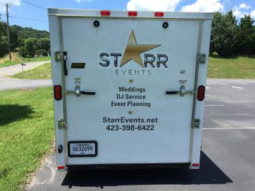 Back Cut Letters for the Star Events trailer!