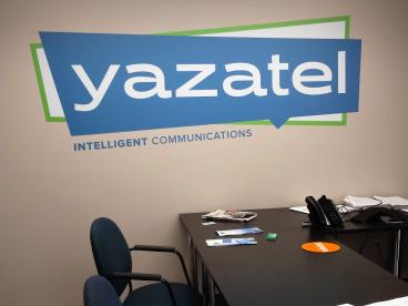 Yazatel Wall Decal - Louisville, KY Office Graphics