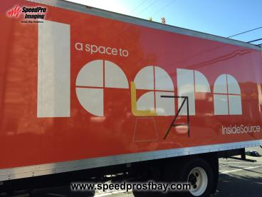 Box truck - InsideSource's new look
