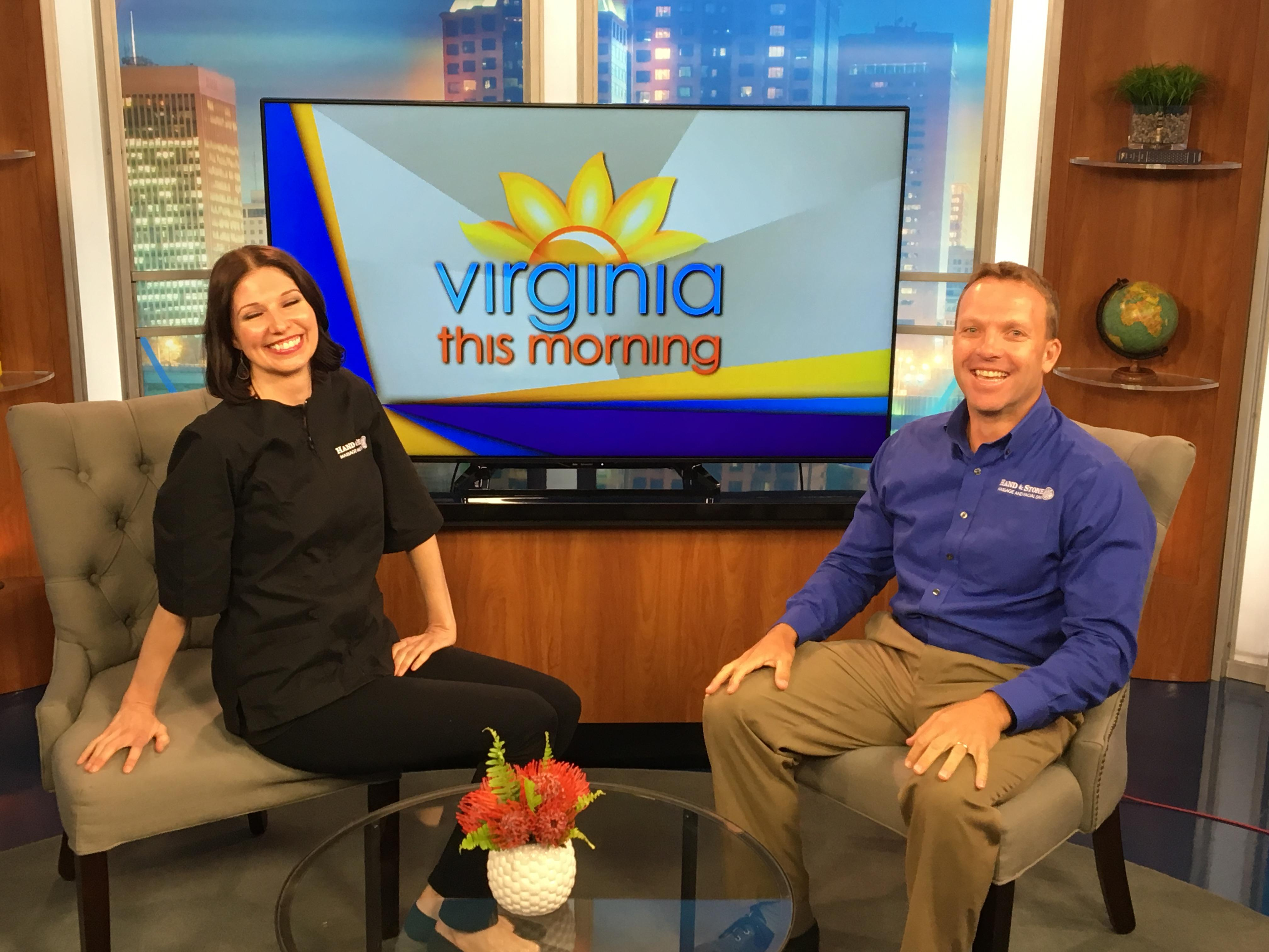 TV time on Virginia this Morning.