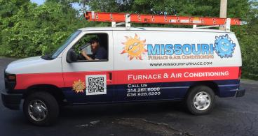 Missouri Furnace's new vehicle graphics - ready to roll!