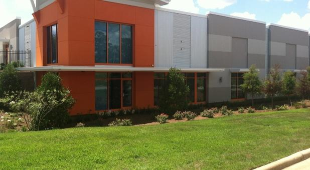 Outside shot of office side & Woodruff Storage | Self-Storage Center Serving Columbus GA