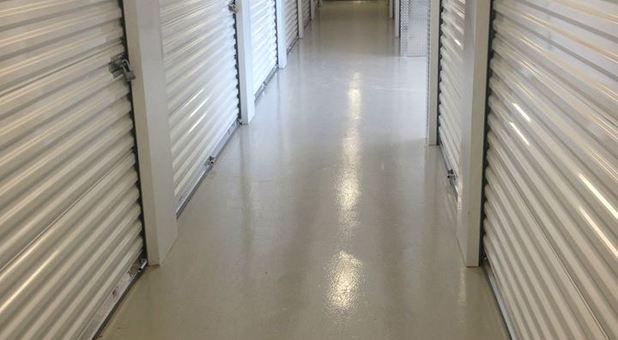 Hallways of the facility