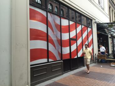 Republican National Convention WIndow Graphics
