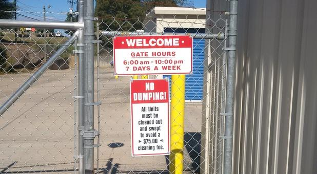 Gate Hours Signing