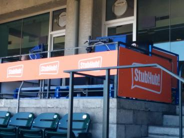 StubHub signage at AT&T park