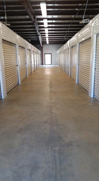 Storage Units Indoors Hallway