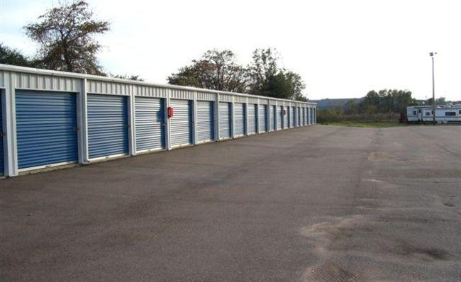 Our facility has wide drive aisles for easy access.