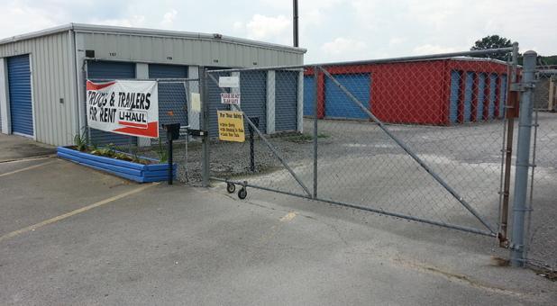 Gate Entrance At Dogwood Location