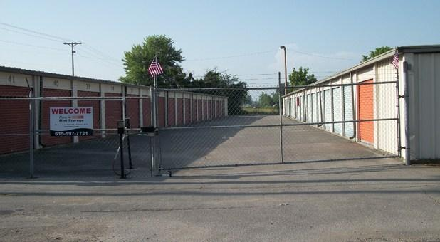 Gate Entrance At Dearman St Location