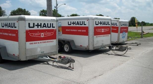 Uhaul Trailers