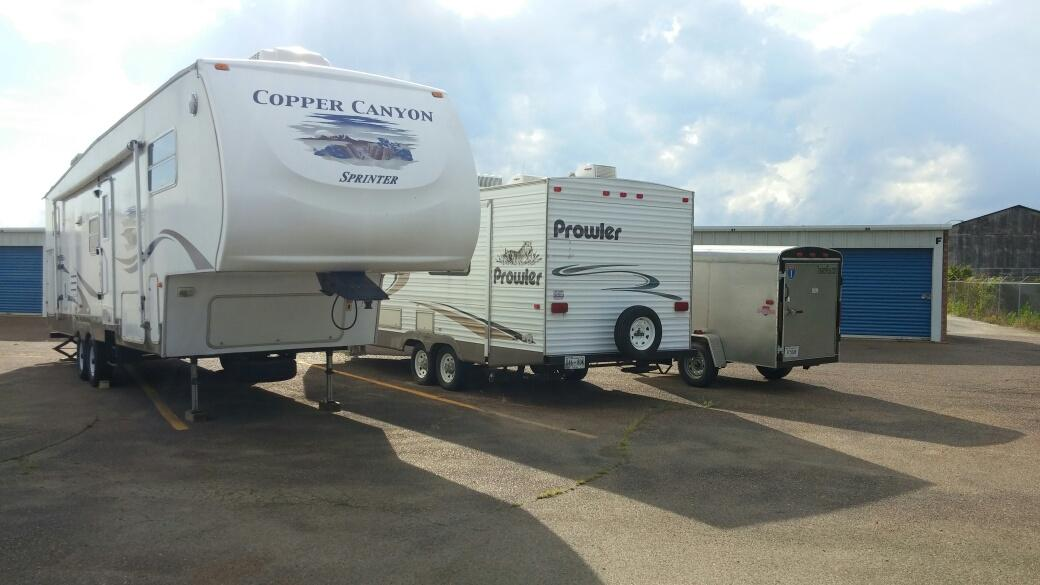 We also offer parking spaces for RVs & Campers