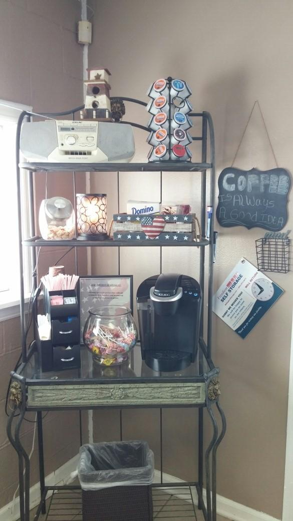 Our Coffee Station offers a wide variety of flavors for everyone!