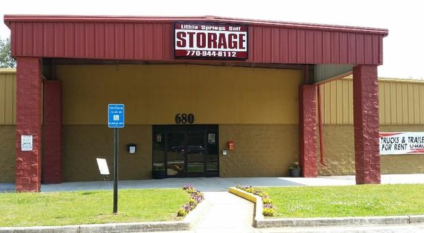 Lithia Springs Self Storage Main Building
