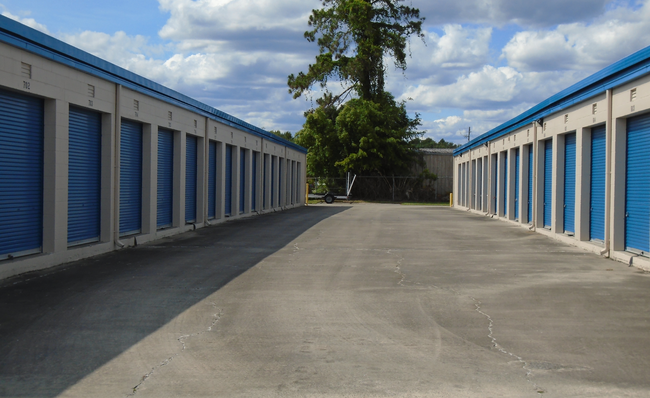 Exterior Self Storage & Coastal Mini Storage | Self-Storage Center Serving Brunswick GA